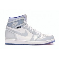 Air JORDAN 1 RETRO HIGH ZOOM WHITE RACER BLUE CK6637-104