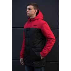 Зимняя parka beZet'17 black\red