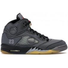 Jordan 5 Retro Off-White Black CV4827-001