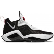 Nike LeBron Soldier 14 Black White Red CK6047-002