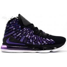 "Кроссовки Nike LeBron 17 ""Black Purple"""