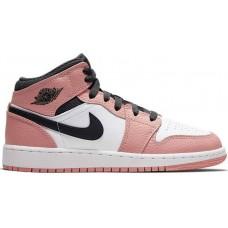 Jordan 1 Retro Mid Pink Quartz 555112-603