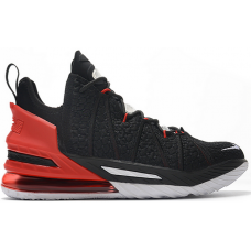 Nike LeBron 18 Black Red White CQ9283-002