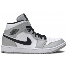 Air Jordan 1 Mid 'Smoke Grey'  554724 092