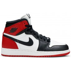 Air Jordan 1 Retro High Black Toe White/Black/Varsity Red 575441-184